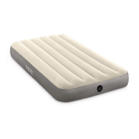 Nafukovací postel Air Bed Single-High Twin