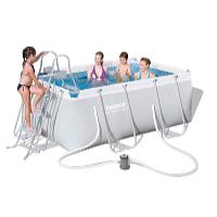 Bazén s konstrukcí 2,87 x 2,01 x 1 m set včetně příslušenství