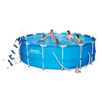Bazén Steel Pro Frame 4,57 x 1,22 m set včetně příslušenství