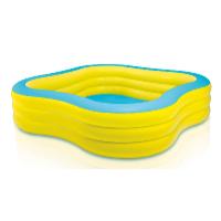 Nafukovací bazén Beach Wave 2,29 x 2,29 x 0,56 m žlutá