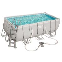 Bazén Power Steel 4,12 x 2,01 x 1,22 m set včetně příslušenství A