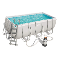 Bazén Power Steel 4,12 x 2,01 x 1,22 m set včetně příslušenství B