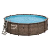 Bazén Power Steel Rattan 4,88 x 1,22 m set včetně příslušenství