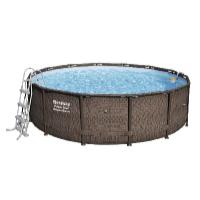 Bazén Power Steel Rattan 4,27 x 1,07 m set včetně příslušenství