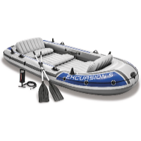 Nafukovací člun Excursion 5 Set -  366 x 168 x 43 cm