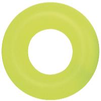 Nafukovací kruh Fluorescent 91 cm zelený