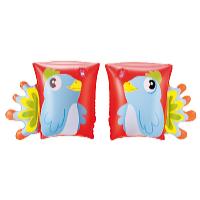 Nafukovací rukávky zvířátko 23 x 15 cm papoušek