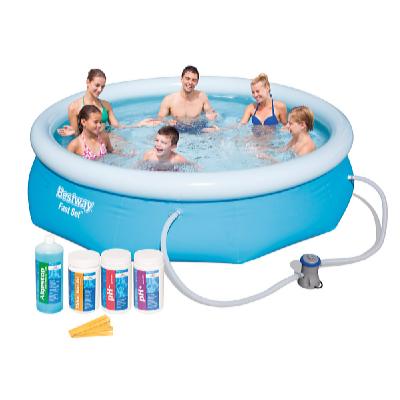 Bazén FAST SET 3,05 x 0,76 m s kartušovou filtrací a bazénovou chemií
