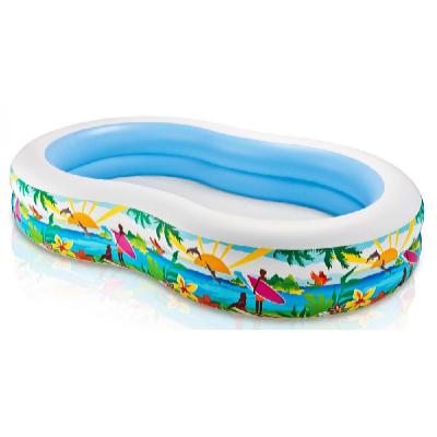 Dětský bazén Rajská laguna 2,62 x 1,6 x 0,46 m