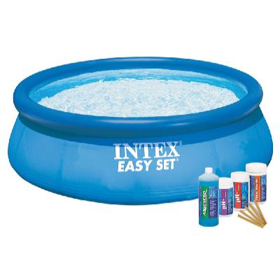 Bazén EASY SET 3,66 x 0,76 m s bazénovou chemií