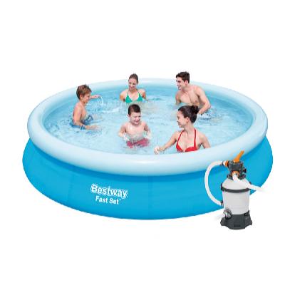 Bazén FAST SET 3,66 x 0,76 m s pískovou filtrací Standard