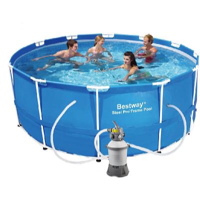 Bazén s konstrukcí 3,66 x 1,22 m s pískovou filtrací Standard
