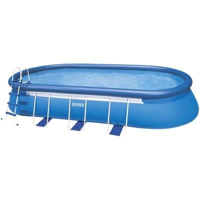 Bazén OVAL FRAME 5,49 x 3,05 x 1,07 m set včetně příslušenství