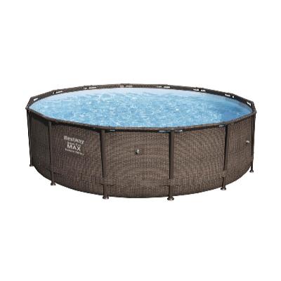 Bazén Steel Pro Rattan 3,66 x 1 m bez filtrace