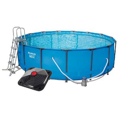 Bazén Steel Pro Frame 4,57 x 1,22 m set s příslušenstvím a solárním ohřevem pyramidovým