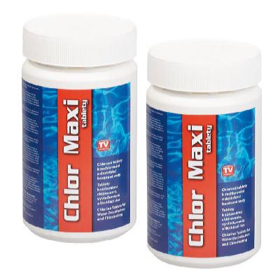 Bazénové chlor maxi tablety 2 x 1 kg