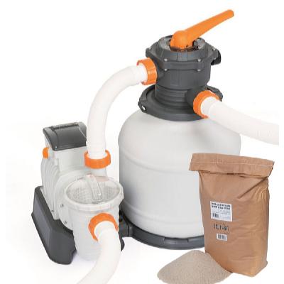 Písková filtrace Expert s filtračním pískem 25 kg