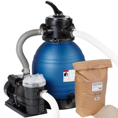 Písková filtrace Maxi s filtračním pískem 25 kg