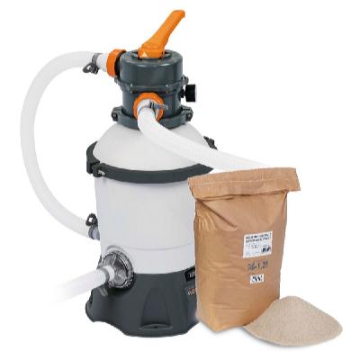 Písková filtrace Standard s filtračním pískem 25 kg