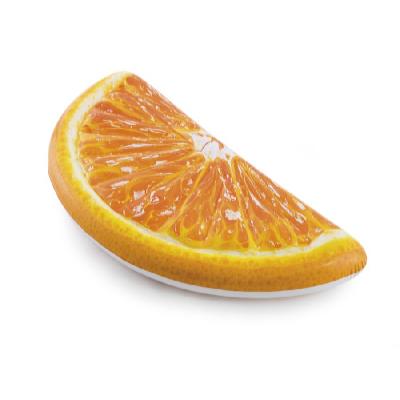 Nafukovací lehátko pomeranč 1,78 x 0,85 m