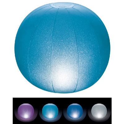 Plovoucí nafukovací míč s LED osvětlením 23 cm