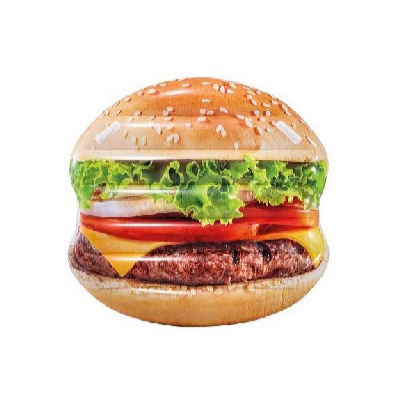 Nafukovací ostrov hamburger 145 x 142 cm