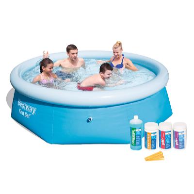 Bazén FAST SET 2,44 x 0,66 m s bazénovou chemií