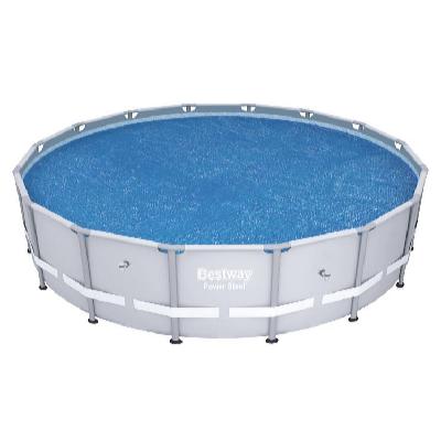 Solární plachta 4,17 m pro bazén s konstr. Power Steel 4,27 m
